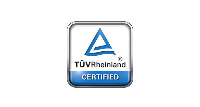 Firma Votum z certyfikatem czystości i higieny TUV